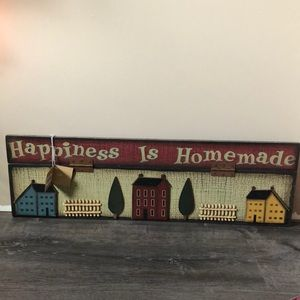Debbie Bryan Collection Hinged Happiness Home Sign